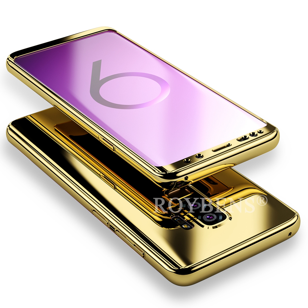 detailed pictures 60ba4 f4973 Roybens Luxury Mirror 360 Ultra Thin Full Body Case For Samsung ...