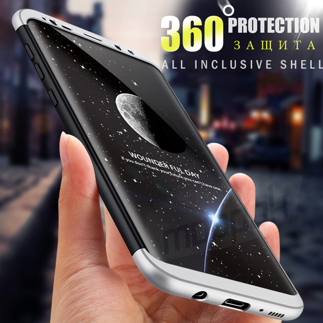 new concept 7f940 14ef1 Ultra Thin 360 Full Cover Protective Cases For Samsung Galaxy S7 S6 edge S8  Plus Case Cover For Samsung S8 S9 Plus Phone Case